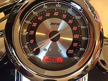 Km/t Klistremerke Harley-Davidson MPH - KM