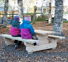 Barnebenk/ Benk til barnehage