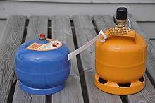 Gassflasker til båten