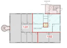 Sørkedalsveien 90A - Oversikt over ledige lokaler i Under etasje
