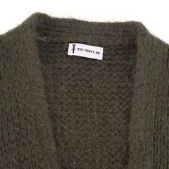 Helt ny grønn genser i angora fra American Vintage