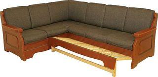 Sovehjørne, sove sofa 2 + 3 fra Skjåk møbler. Farge og ...