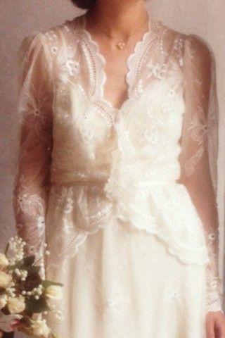 Hekte brudekjole