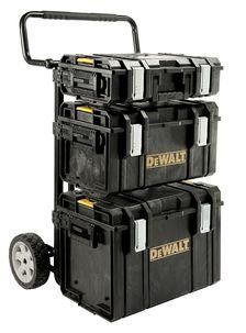 Dewalt tough system - Arendal  - Dewalt tough system med tralle og 3 kofferter. Lite brukt. - Arendal