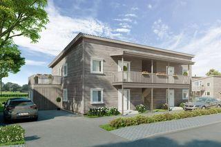 Prosjekterte 3-romsleiligheter i 4-mannsbolig med flott beliggenhet nær fjorden. Forhåndsgodkjent i Husbanken!
