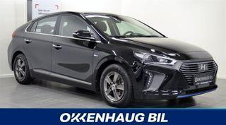 Hyundai Ioniq Adaptiv Cruise, Hybrid, Varme i ratt, Navi, Automat, P  2017, 25277 km, kr 238900,-