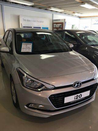 Hyundai i20 1.0  2016, 46000 km, kr 149037,-