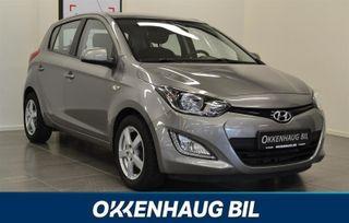 Hyundai i20 1.4 Automat, DAB+, Service før levering  2013, 36000 km, kr 129900,-