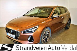 Hyundai i30 1.4 Teknikk 140 hk DCT-automat  2018, 29508 km, kr 269000,-