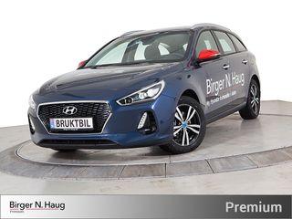 Hyundai i30 1,4 T-GDi Plusspakke aut KeyLess GO-Ryggekamera-DAB+  2017, 4000 km, kr 269900,-