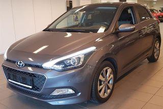 Hyundai i20 1.2 B 84HK PANORAMA KLIMA LED  2015, 71500 km, kr 119900,-