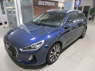 Hyundai i30 1,4 140 Hk Dct Aut Teknikkpakke Navi Kamera Bi-led Krok  2018, 10000 km, kr 289000,-