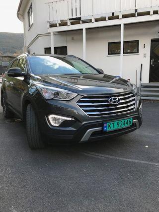 Hyundai Grand Santa Fe 2,2 CRDi 197hk 4WD Premium aut.  2016, 98500 km, kr 299000,-