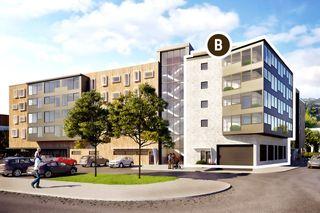 Bjørndalen Parken Syd -HUS B-Gjennomgående leiligheter med innglasset balkong og Husbank finansiering - Kun 4 stk igjen