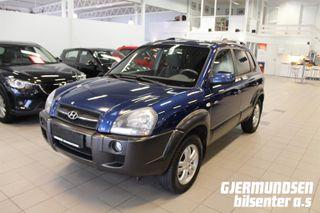 Hyundai Tucson 2.0 GLS Hel og pen bil, NYE bremser!  2006, 215000 km, kr 46594,-