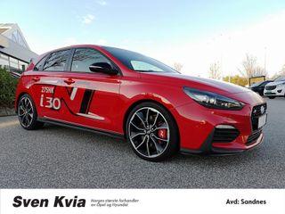 Hyundai i30 N-Performance/275HK/ /El.stoler/Ryggekam/++++  2018, 7887 km, kr 495000,-