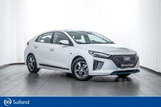 Hyundai Ioniq Teknikk med skinn Meget pen leveringsklar bil  2018, 2700 km, kr 299500,-