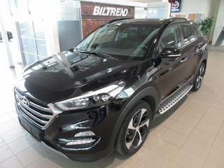"""Hyundai Tucson 1,7 Crdi 141 Hk Aut Panorama Skinn Navi Led """"Foliert""""  2018, 3600 km, kr 399000,-"""