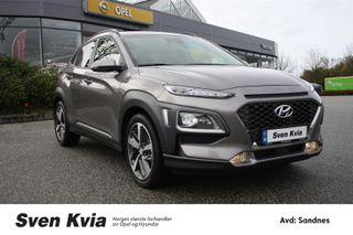 Hyundai Kona 1.0 Turbo 120 HK. Teknikkpakke, Navi, Skinn, DAB+  2018, 3250 km, kr 269000,-