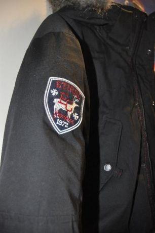 Etirel campus sportswear stillig varm jakke Stockholm str 38