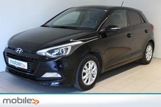 Hyundai i20 1,0 T-GDI GO! 99 hk turbo , Navigasjon, Innbyttegaranti  2017, 51332 km, kr 157000,-