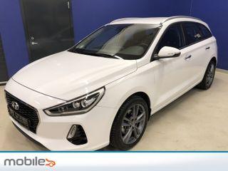 Hyundai i30 1,4 T-GDi Plusspakke aut 140HK Navigasjon Ryggekamera  2018, 2500 km, kr 289000,-