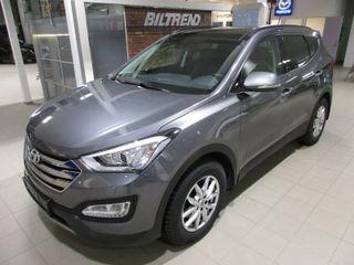 Hyundai Santa Fe 2,2 Crdi 197 Hk Aut Panorama Skinn Navi 7 seter  SE KM  2015, 15000 km, kr 449000,-