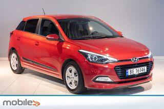Hyundai i20 1,0 T-GDI GO! innbyttekampanje, 0,95% rente  2018, 4500 km, kr 169000,-