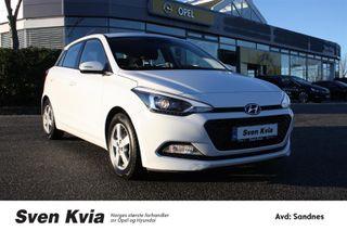 Hyundai i20 1.2 Comfort Plusspakke Navi, Ryggekamra, DAB+, Bluetoot  2016, 26800 km, kr 145000,-