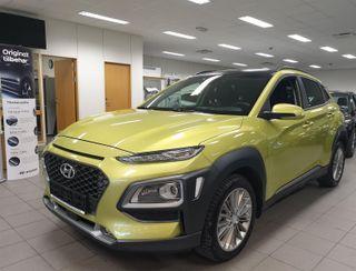 Hyundai Kona 1.0 TURBO 120HK TEKNIKKPAKKE + SKINN  2017, 4000 km, kr 275000,-