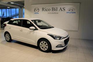 Hyundai i20 1.2  COMFORT, DAB+  2015, 55000 km, kr 149000,-