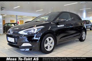 Hyundai i20 1,0 T-GDI Jubileum DEMONSTRASJONSBIL  2018, 16500 km, kr 189000,-