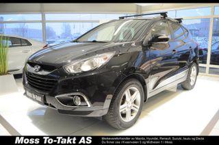 Hyundai ix35 2,0 CRDI Comfort 4WD , DAB+, motor og kupèvarmer  2011, 137500 km, kr 159000,-