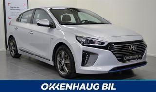 Hyundai Ioniq Teknikk, Skinn, Adaptiv Cruise, Automat, Hybrid, Navi,  2017, 27366 km, kr 249900,-