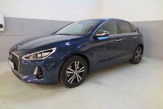 Hyundai i30 1.4 T-GDi 140 hk Teknikkpakke Aut  2017, 19000 km, kr 289000,-