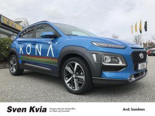Hyundai Kona 4x4 177HK Automat Soltak/Skinnseter/DAB+/Bluetooth  2018, 7900 km, kr 409000,-