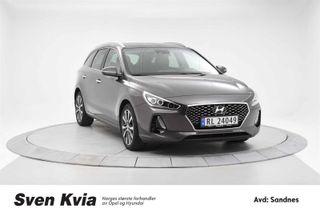 Hyundai i30 1.4Turbo Bensin 140HK/ Teknikkpakke/AdaptivCruise/DAB+/  2018, 14905 km, kr 299000,-