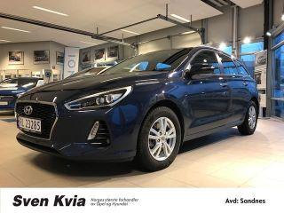 Hyundai i30 1.4T 140HK Automat/ Plusspakke/Navi/Ryggekam/DAB+/++  2018, 3655 km