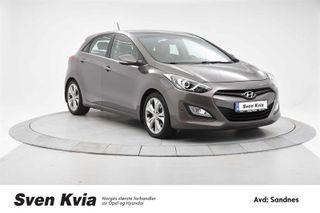 Hyundai i30 1.6 Automat Navigasjon Pannoramasoltak, DAB+  2013, 48400 km, kr 169000,-