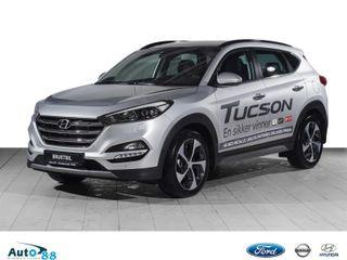 Hyundai Tucson 1.7 CRDI 141 HK DCT Aut. Panoramatak, skinn  2018, 4000 km, kr 409000,-