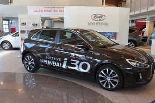 Hyundai i30 1.4 T-GDi Teknikkpakke DCT  2017, 21000 km, kr 269000,-