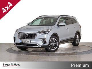 Hyundai Grand Santa Fe 2,2 CRDi 197hk 4WD Premium aut. 360grader-P.assist-DAB+  2017, 19000 km, kr 699900,-