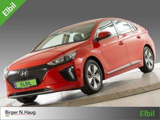 """Hyundai Ioniq Electric SE DENNE-CARPLAY-NAVI-RYGGEKAMERA """"NY BIL""""!!  2018, 15 km, kr 299900,-"""