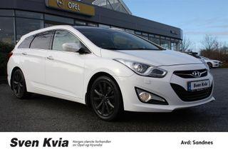 Hyundai i40 1.7 CRDI Premium 136HK. Navi, DAB+, Ryggekamera, Garanti.  2012, 143150 km, kr 129000,-