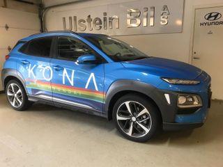 Hyundai Kona 1.6 T 177hk* AT*4X4*SKINN*TEKNIKK*NAVI*SOL* TOPPMOD*  2018, 6900 km, kr 419000,-