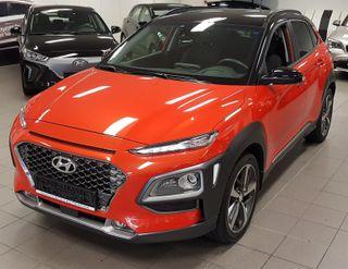 Hyundai Kona 1.0 TURBO 120HK TEKNIKK SKINN NAVI LED  2018, 5800 km, kr 289000,-