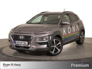 Hyundai Kona 1,0 T-GDI Teknikkpakke HUD-Ryggeradar/kamera-SmartKey  2017, 4000 km, kr 284900,-