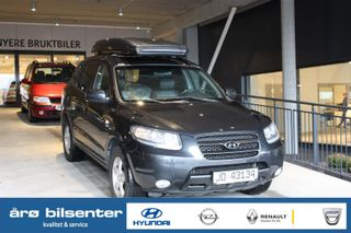 Hyundai Santa Fe 2.2 CRDI LUX 4WD/Automat/Skinn/Cruise/H-Feste/DAB++  2006, 230020 km, kr 79000,-