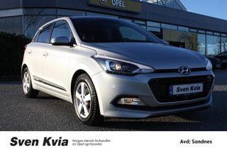 Hyundai i20 1.0 Turbo 101 HK. Plusspakke, Navi, Ryggekamra  2018, 7900 km, kr 179000,-