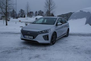 Hyundai Ioniq electric Norsk bil Teknikk skinn  2017, 20200 km, kr 279000,-